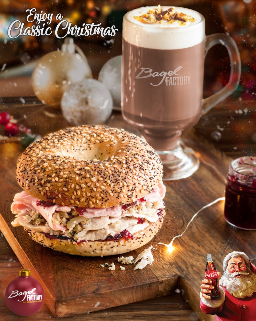 Bagel Factory - Enjoy A Classic Christmas