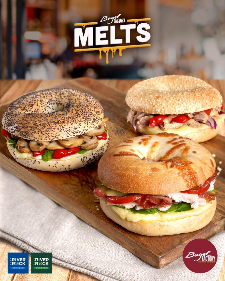 Bagel Factory Melts